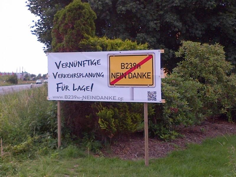 Banner Detmolder Strasse